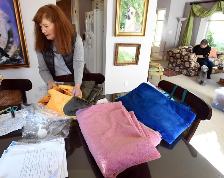 Fran Blum and Dog Coats
