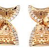 Auspicious Collection<br /> 18K Rose Gold Diamond Earrings<br /> HK$16,300
