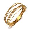 Marco Bicego Mini-Marrakech Collection<br /> 18K Yellow Gold Diamond Bracelet<br /> HK$48,600