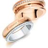 L'amour Éternel Collection<br /> 18K White & Rose Gold Diamond Ring<br /> HK$12,800<br /> <br /> 18K Rose Gold Diamond Ring<br /> HK$16,300
