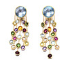 Marco Bicego Jaipur Collection<br /> 18K Yellow Gold Semi Precious Stone Earrings<br /> HK$28,000