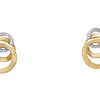 Jaipur Link Collection 18K Yellow Gold Earrings<br /> HK$21,000