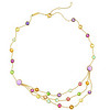 Jaipur Collection 18K Yellow Gold Semi-precious Stone Necklace<br /> HK$23,000
