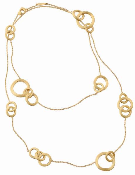 Jaipur Link Collection 18K Yellow Gold Necklace<br /> HK$39,000