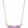 Rainbow Connection<br /> 18K Rose Gold Amethyst Pendant<br /> HK$6,200