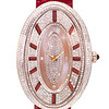 Emphasis Timepiece Collection<br /> Oval-Shaped Watch Set with Diamond (Red)<br /> HK$50,000