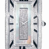 Emphasis Timepiece Collection<br /> Rectangular-Shaped Watch Set with Diamond (Black)<br /> HK$50,000