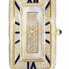Emphasis Timepiece Collection<br /> Rectangular-Shaped Watch Set with Diamond (Blue)<br /> HK$50,000