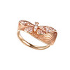 EMPHASIS JEWELLERY_Nature Collection_18K玫瑰金鑽石蝴蝶指環_約HK$8,800<br /> <br /> EMPHASIS JEWELLERY_Nature Collection_Butterfly motif ring set with diamonds in 18K rose gold_Approx. HK$8,800