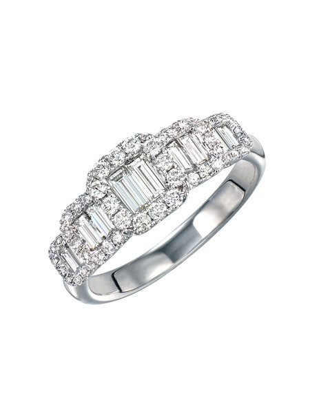 EMPHASIS JEWELLERY_Merry Mount Collection_Diamond ring in 18K white gold (Approx. 0.79 ct in total)_Approx. HK$14,400