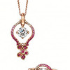 Solitaire Plus Collection<br /> Pendant & Ring