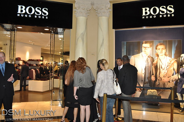 A Night of Fashion at HUGO BOSS