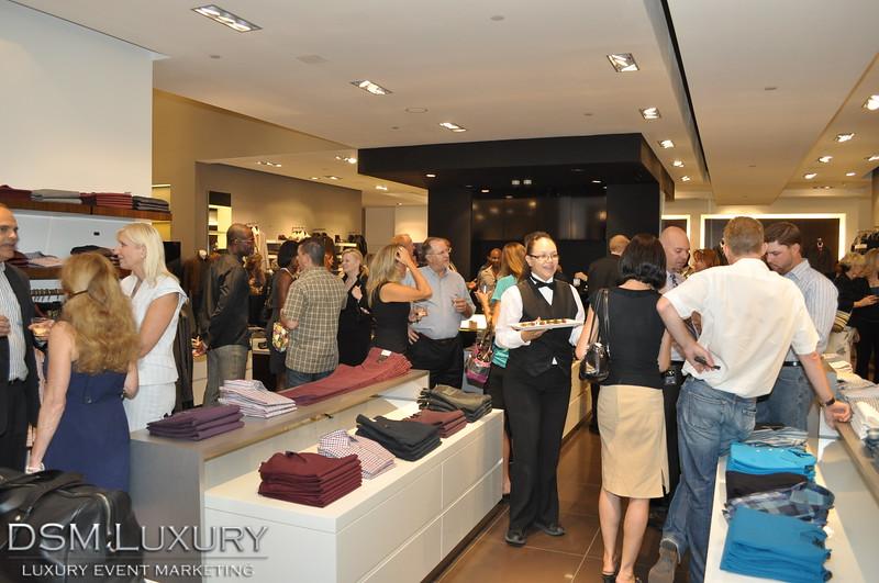 Hugo Boss Men's Luxury Clothing Mixer at Caesar's Forum Shops in Las Vegas