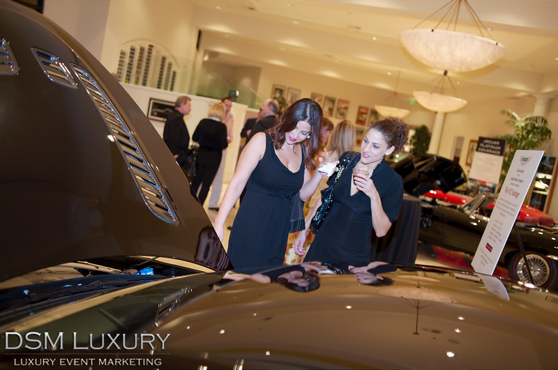 DSM Luxury Aston Martin V12 Vantage at Gaudin Motors in Las Vegas