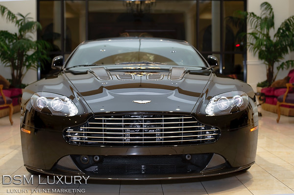 DSM Luxury Aston Martin V12 Vantage Launch Event in Las Vegas