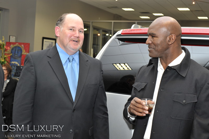 DSM Luxury and Cadillac of Las Vegas present the 2011 Luxury Preview Event hosted in the Cadillac of Las Vegas Showroom Guest Star Evander Holyfield