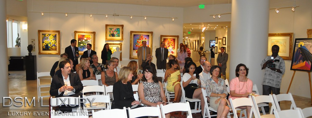 "DSM Luxury's ""Art of Appreciation"" at Gallerie Michael, Rodeo Drive"