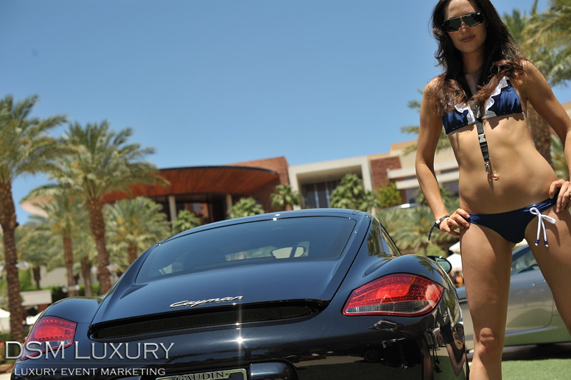 Exotic Cars Pool Side At Red Rock Casino Las Vegas With Gaudin Motors
