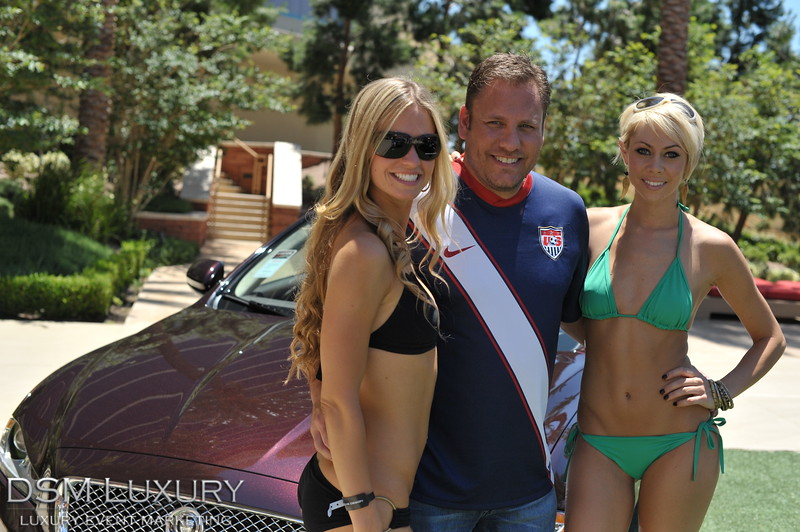 DSM Luxury Auto Fashion Poolside At Red Rock Casino Las Vegas With Gaudin Motors