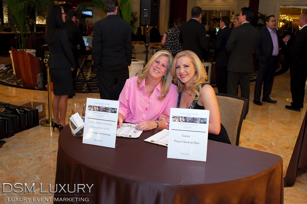 Donald Trump Las Vegas Hotel DSM Luxury Event