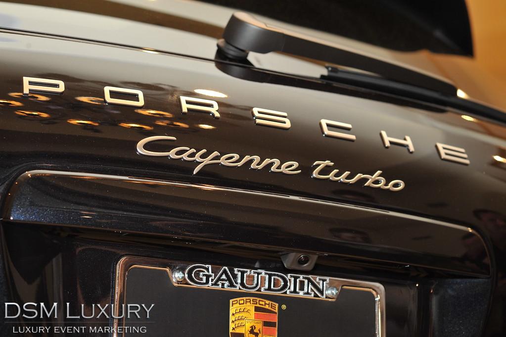 Gaudin Motor Cars Vegas Unveiling Porsche Cayenne 2011