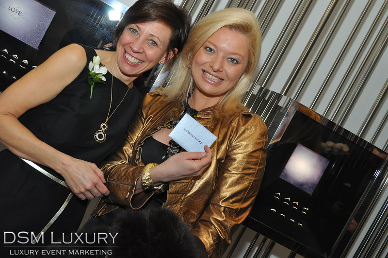 Hearts On Fire Jewelry Event at Forum Shops in Caesars Casino Resorts Las Vegas
