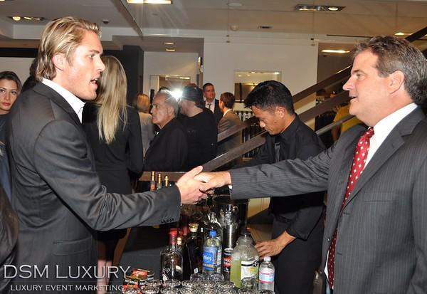 "DSM Luxury presents ""Suits & Spirits"" at Hugo Boss, Bevelry Hills"