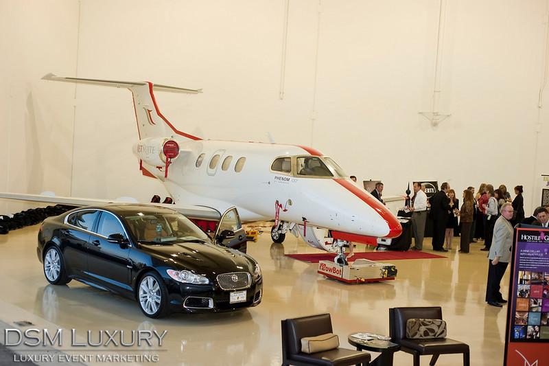 DSM Luxury VIP Hangar Parties