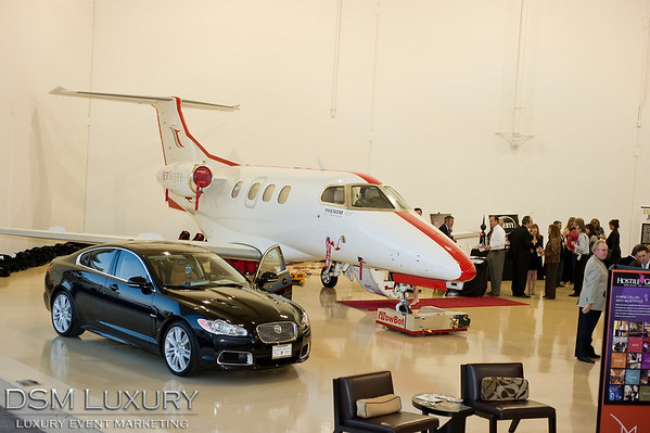 DSM Luxury's VIP Hangar Party, Las Vegas