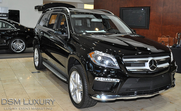 Fletcher Jones Imports Mercedes SUV GL Series Unveiling