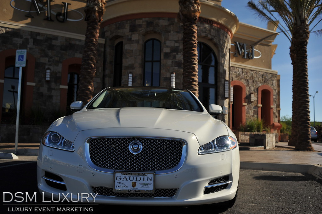 MJ Christensen Party in Las Vegas with DSM Luxury