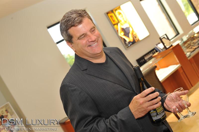 MJ Christensen Party in Las Vegas with DSM Luxury