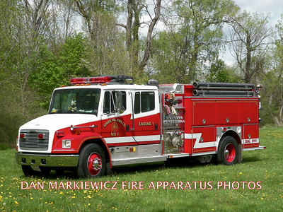 HOBBIE VOLUNTEER FIRE CO. ENGINE 142 1998 FRT/E-ONE PUMPER