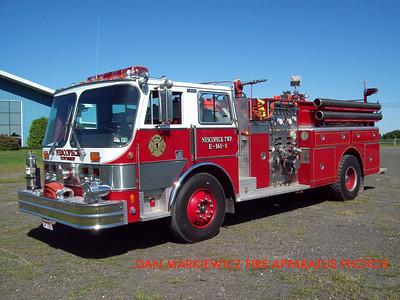 NESCOPECK TWP. VOLUNTEER FIRE CO. ENGINE 161-1 1984 HAHN PUMPER