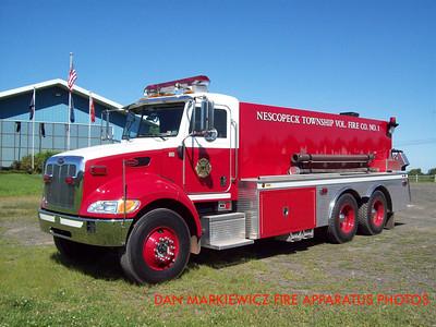 NESCOPECK TWP VOLUNTEER FIRE CO. TANKER 161 2005 PETERBILT/S&S TANKER