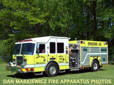 WHITE HAVEN FIRE CO. ENGINE 63 2010 KME PUMPER