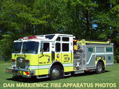 WHITE HAVEN FIRE CO. ENGINE 62 2003 KME PUMPER/RESCUE