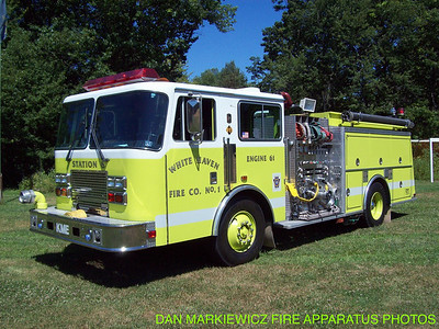 WHITE HAVEN FIRE CO. X-ENGINE 61 1991 KME PUMPER