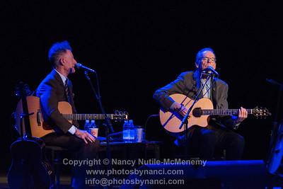 Lyle Lovett and John Hiatt, Garde Arts Center