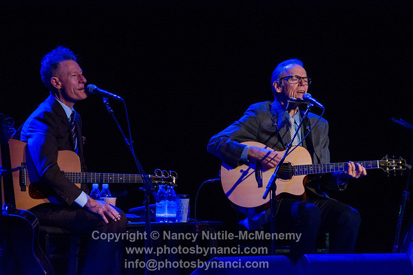 Lyle Lovett and John Hiatt, Garde Arts Center