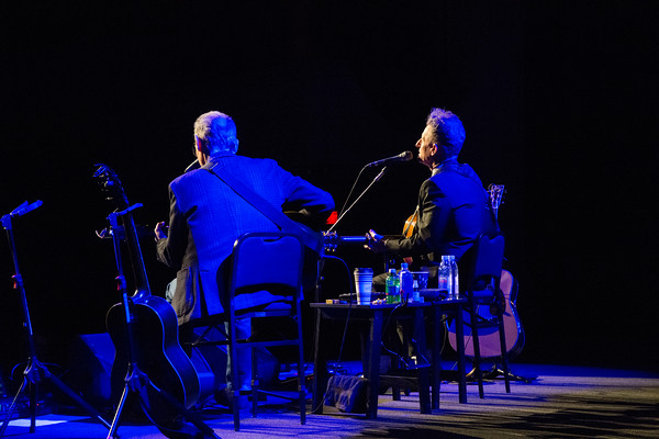 An Acoustic Evening with Lyle Lovett and John Hiatt at the Shubert Theatre