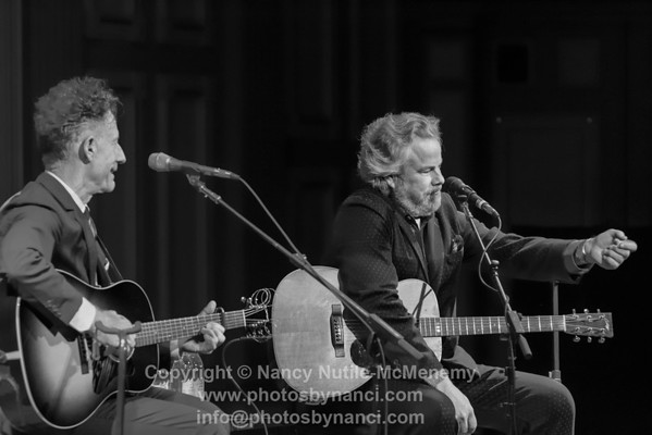 Lyle Lovett and Robert Earl Keen