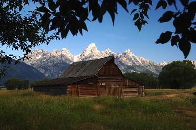 Grand Teton N P  Mormon Barn 010