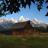 Grand Teton N P  Mormon Barn 010