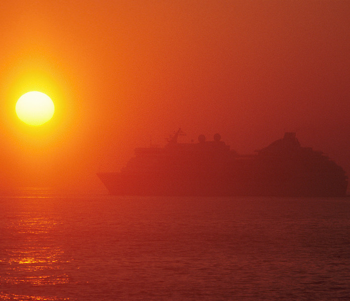 Cruise Ship Sunrise #002