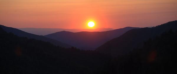 Sunset Morton Overlook Panoramic (3)