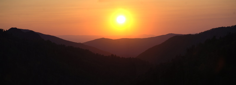 Sunset Morton Overlook Panoramic (2)