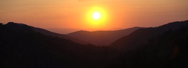 Sunset Morton Overlook Panoramic (2)