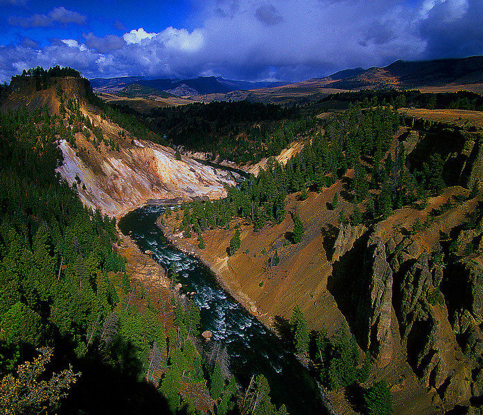 Grand Canyon of the Yellowstone #025