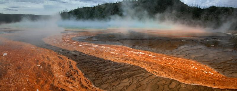 Yellowstone Grand Prismatic Spring (3)